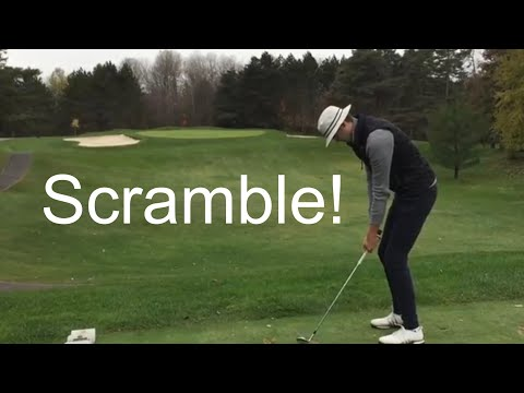 3 Man GOLF SCRAMBLE (Junior Golfers)
