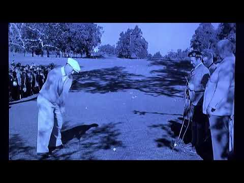 Ben Hogan / Driver Slow Motion (1953)