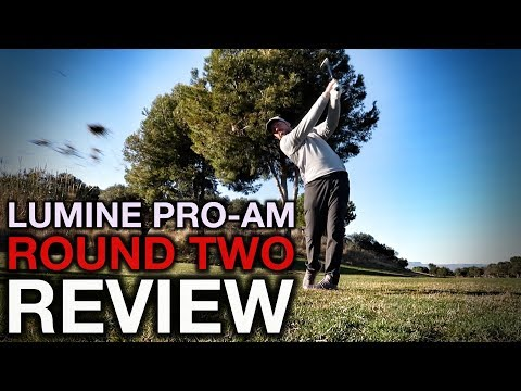 MENTAL GAME….not on point!! Lumine Pro-Am Review – Round Two