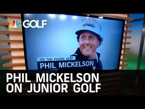 Phil Mickelson: Best Junior Golf Memory | Golf Channel