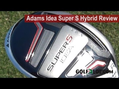 Adams Ideas Super S Hybrid Review by Golfalot