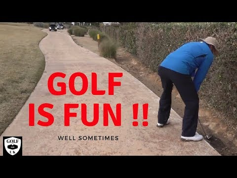 CRAP GOLF VIDEO OR FUNNY VIDEO FROM GOLF VLOGS UK