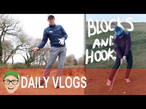BLOCKS AND HOOKS GOLF LESSON