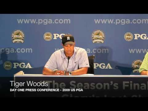 Tiger Woods: 2009 US PGA Day One Press Conference