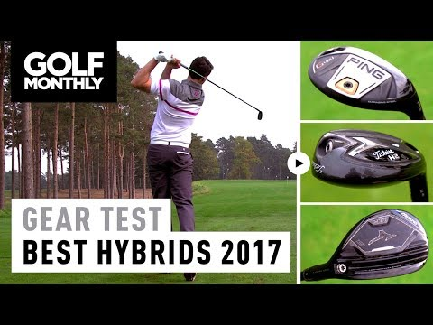 Best Hybrids 2017 | PING G400 vs Titleist 818 vs Mizuno CLK | Golf Monthly