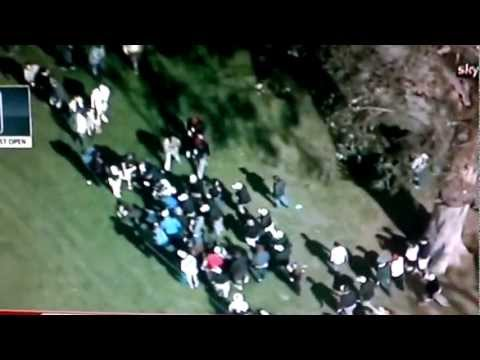 Golf, Phil Mickelson Show With Fan [US PGA TOUR] 19-02-2012