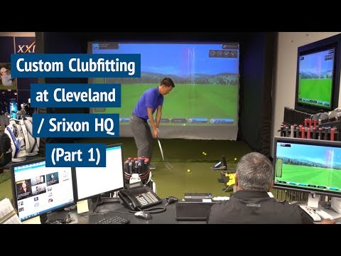Golf Club Fitting at Cleveland Srixon Headquarters (Part 1)