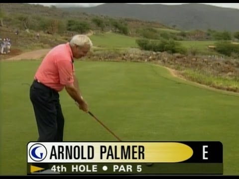 Gary Player & Arnold Palmer / The Challenge At Manele Golf (Part 2/2)