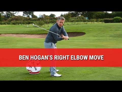 BEN HOGAN'S RIGHT ELBOW MOVE