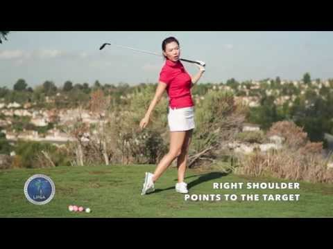 [Golf with Aimee] Aimee's Golf Lesson 011: How to hit a Three Wood