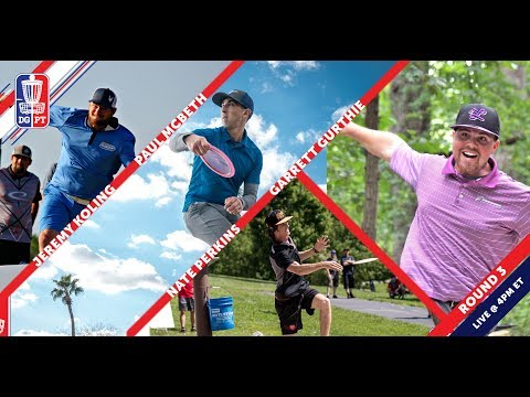 Disc Golf Pro Tour: The Waco Charity Open – Round Three