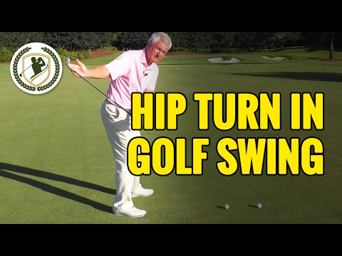 Hip Turn In The Golf Swing Lesson