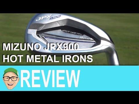 Mizuno JPX900 Hot Metal Irons