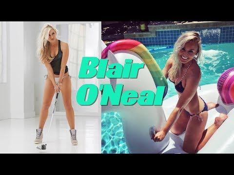 Blair O'Neal Golf Videos  2018
