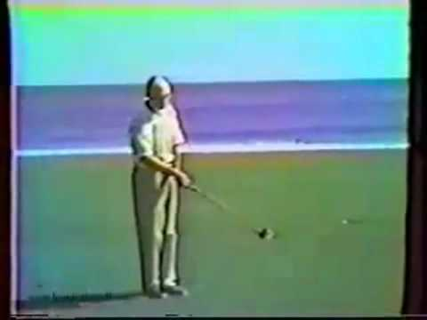 Ben Hogan slow motion sequence at Seminole Golf Club – Florida