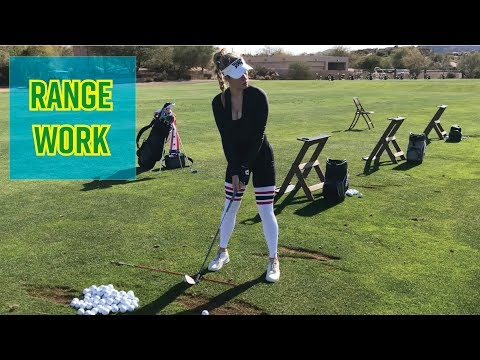 How to Hit Golf Balls on the Range