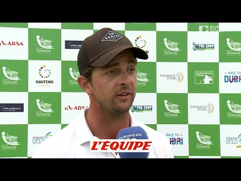les meilleurs coups de Sébastien Gros au Tshwane Open – golf – video