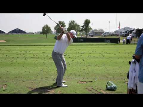 Rory Sabbatini Golf Swing @ 2009 US PGA