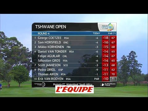 les meilleurs coups du 4e tour du Tshwane Open – golf – video