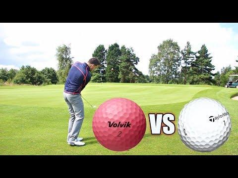 Golf Ball Review – Volvik S4 vs Taylormade TP5