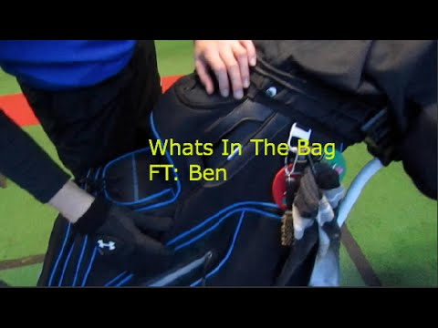 Ben – Whats in the bag?