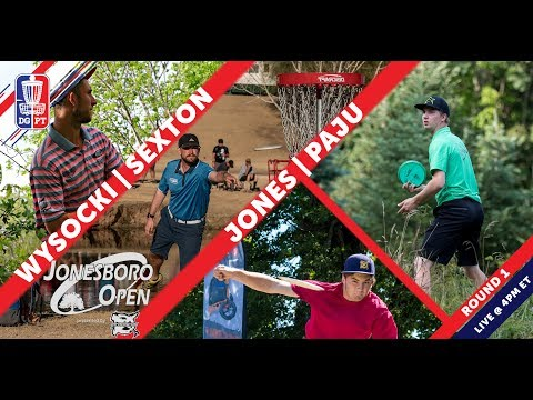Disc Golf Pro Tour: The Jonesboro Open presented by Prodiscus – Round One