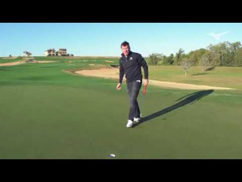 Mizuno playing interview with Sir Nick Faldo (Part 1 of 3)