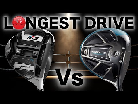 LONGEST DRIVE COMP! TAYLORMADE M3 Vs ROGUE SUB ZERO DRIVER