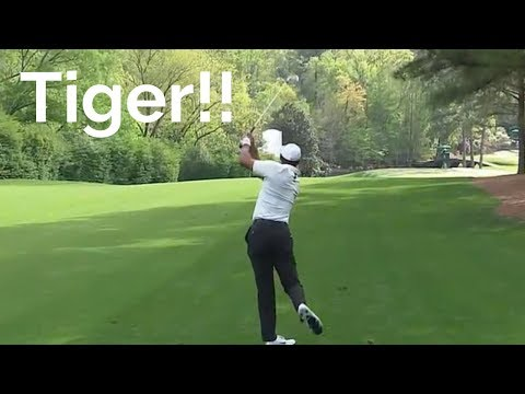 Tiger Woods' Best Golf Shots 2018 Masters Tournament