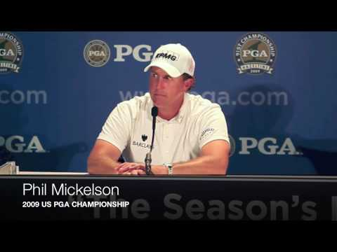 Phil Mickelson: 2009 US PGA Pre-Tournament Press Conference