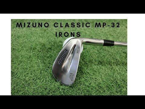Mizuno Classic – MP-32 Irons.