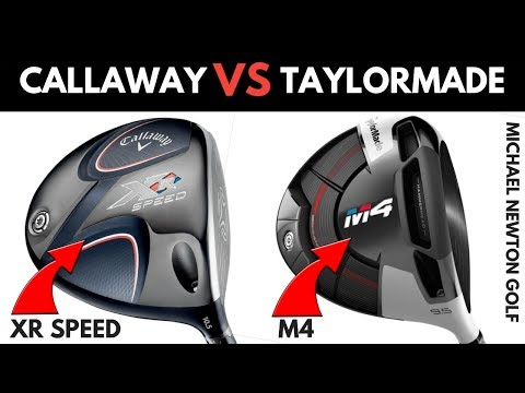 Callaway XR Speed Drier VS TaylorMade M4 Driver – Head To Head