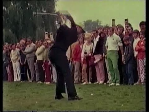 Gary Player's incredible 9 iron,16th hole. PGA Championship.1972.