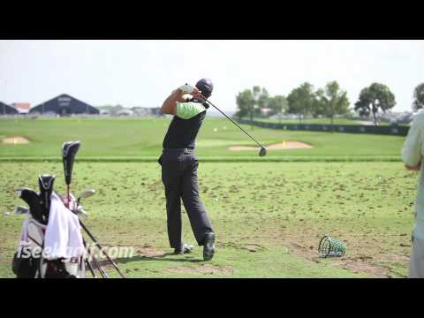 Padraig Harrington Swing (Side and Back) @ 2009 US PGA