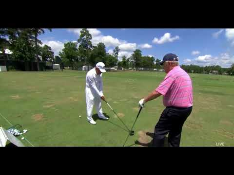 Golf Lesson ~ Jack Nicklaus – Gary Player