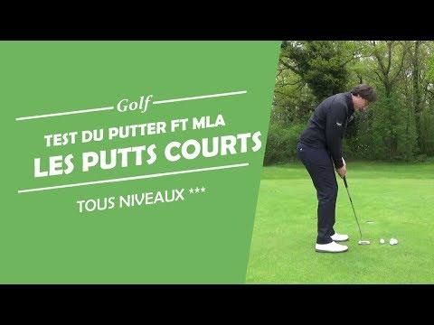 AMÉLIORER VOS PUTTS COURTS / TEST PUTTER TOUR BLADE F&T MLA – COURS DE GOLF