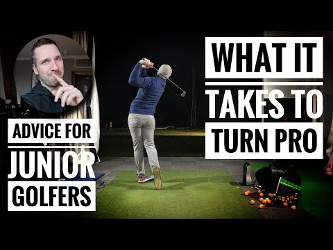 What it takes to turn pro? + Advice for junior golfers…