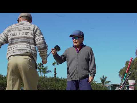 Grandpa Jamie Hits 400yd Drives