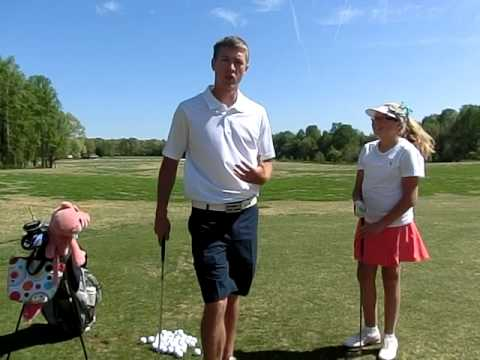 Junior Golf Lesson 3 Fundamentals with Justin Scott