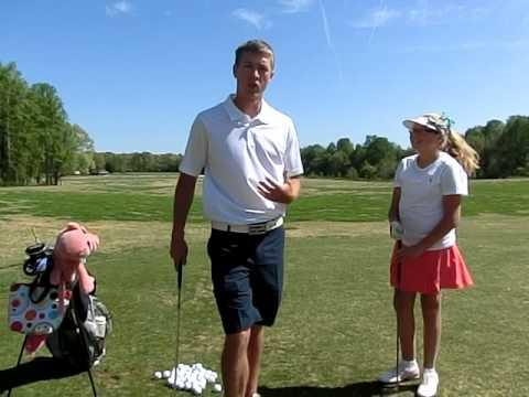 Junior Golf Lesson 3 Fundamentals with Justin Scott