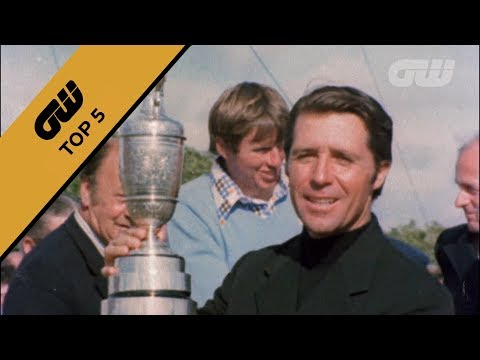 Top 5: Gary Player's Open Moments