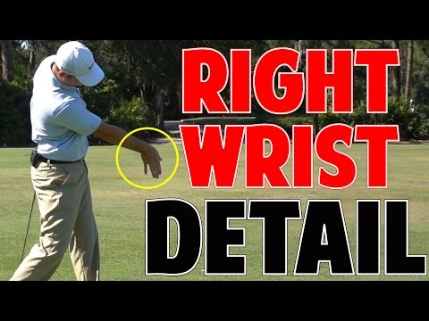 MORE GOLF SWING SPEED | Right Wrist In Crazy Detail