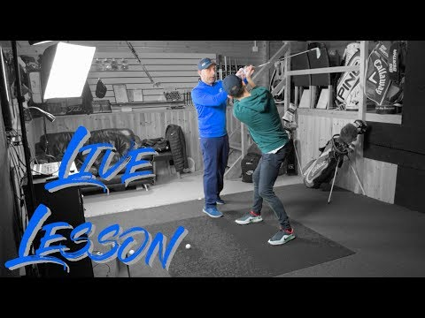 Full Live Golf Lesson | Clubface Control with GCQuad
