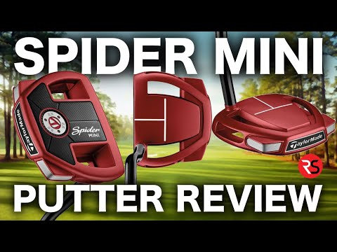 NEW TAYLORMADE SPIDER MINI PUTTER FULL REVIEW!
