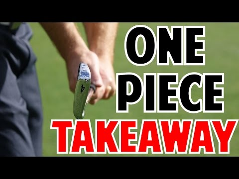 One Piece Takeaway in Golf | Crazy Detail