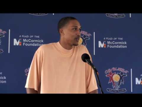 Newest Cavalier Jamario Moon Press Conference