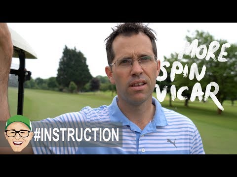 MORE SPIN PLEASE VICAR GOLF TIPS VIDEO