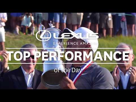 Lexus Performance of the Day: Brooks Koepka – 2018 U.S. Open – Round 4