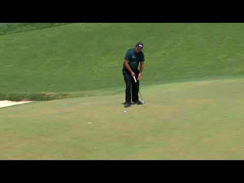 Phil Mickelson on the 13th Hole – 2018 U.S. Open – Round 3