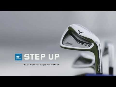 Mizuno MP-54 irons:  Step Up your Shotmaking.